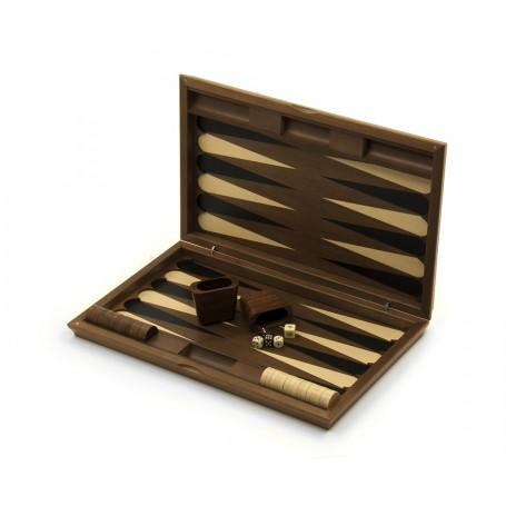 Backgammon in legno intarsiato a mano