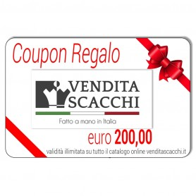 Coupon Regalo 200€