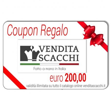 Coupon Regalo 200€