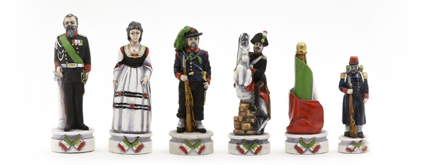 Scacchi artistici, scacchi particolari, scacchi in alabastro