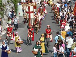 Repubbliche Marinare Corteo di Genova