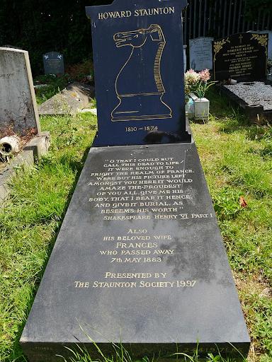 Stauton Howard tomba