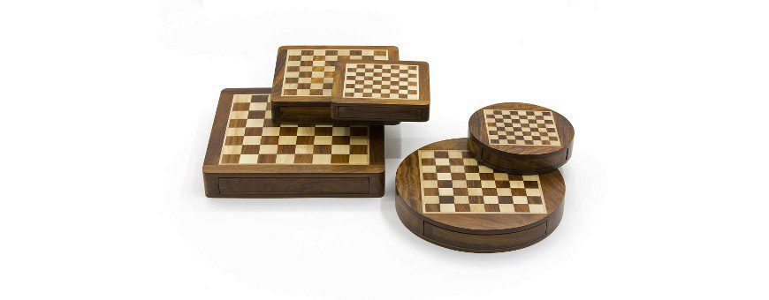 Chess Set Magnetici in Legno